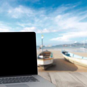 kompiuteris kelioneje